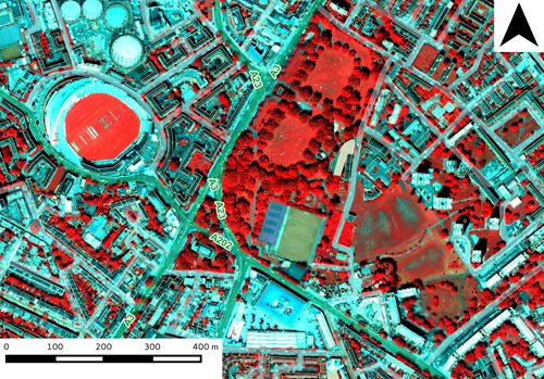 Lidar image of London